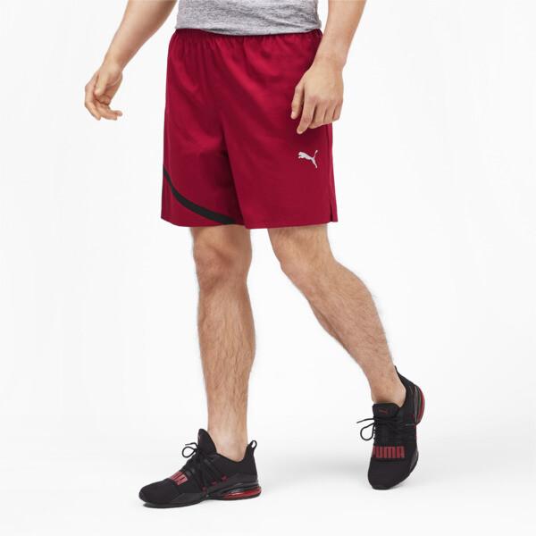 27e23b9895b IGNITE Woven Men's Training Shorts | Rhubarb-Puma Black | PUMA ...