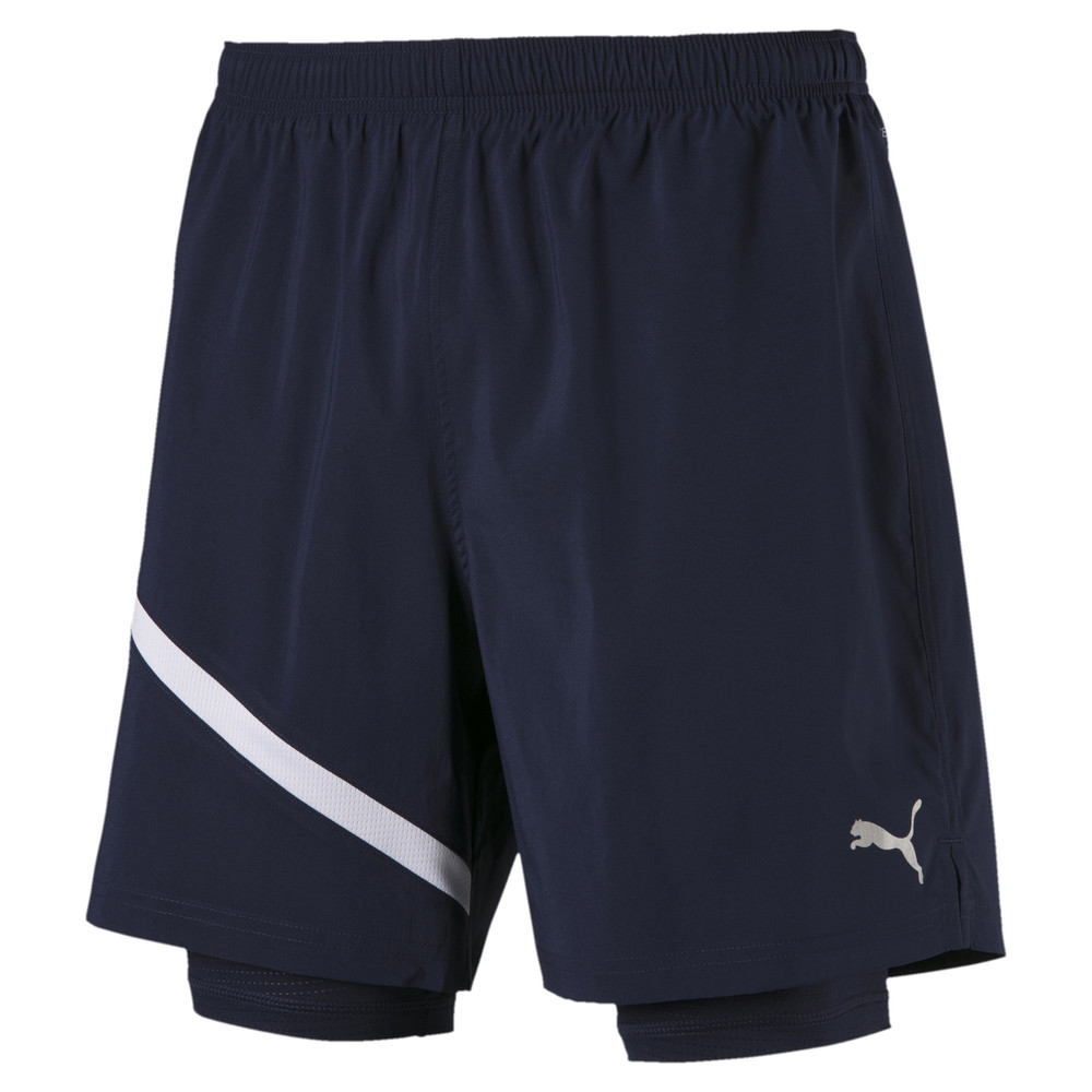Image PUMA Ignite Woven 2 in 1 Men's Running Shorts #1