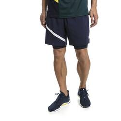 Shorts de running de malla tejida 2 en 1 Ignite para hombre