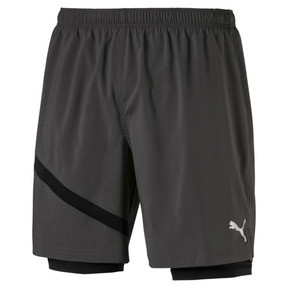 "Thumbnail 1 of Ignite 2in1 7"" Short, Asphalt-Puma Black, medium"