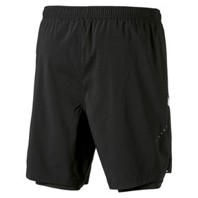Thumbnail 6 of IGNITE Herren Gewebte 2 in 1 Running Shorts, Puma Black-Puma White, medium