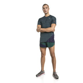 Thumbnail 3 of PACE Short Sleeve Men's Running Tee, Ponderosa Pine-Peacoat, medium