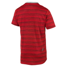 Thumbnail 5 of PACE Short Sleeve Men's Running Tee, Hi Rsk Red Hthr-Lt Gry Hthr, medium