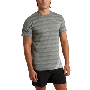 Thumbnail 2 of PACE S/S Tee, Med Gry Hthr-Lt Gry Hthr, medium