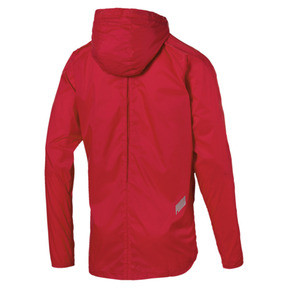 Thumbnail 6 of Lightweight Full Zip Hooded Men's Jacket, High Risk Red, medium