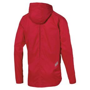 Thumbnail 6 of Men's Lightweight Hooded Jacket, High Risk Red, medium