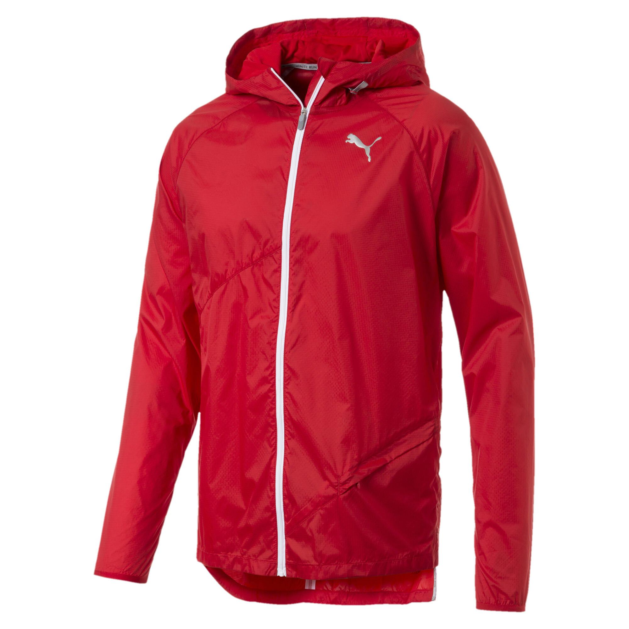 Image Puma Lightweight Full Zip Hooded Men's Jacket #5