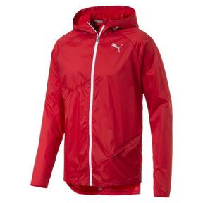 Thumbnail 5 of Men's Lightweight Hooded Jacket, High Risk Red, medium