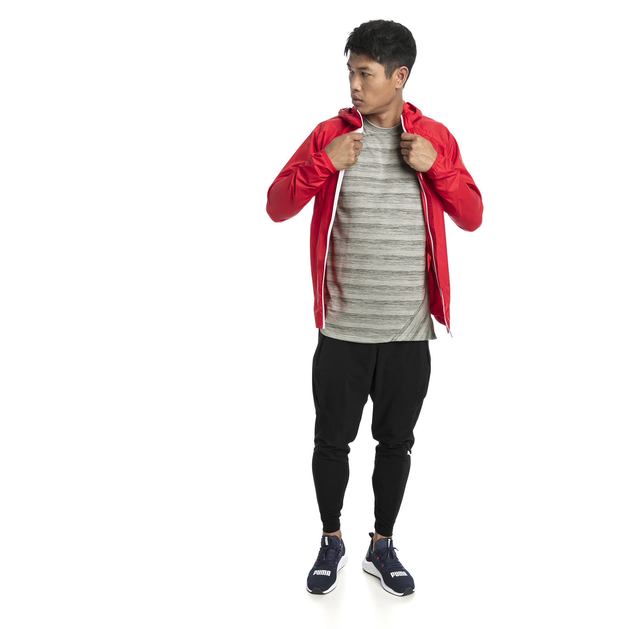 Image Puma Lightweight Full Zip Hooded Men's Jacket #3