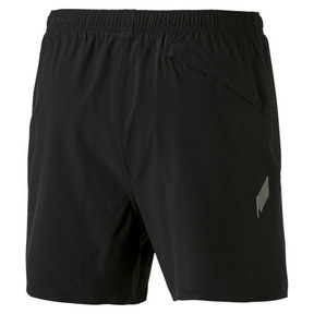 Thumbnail 5 of Pace Herren Running Shorts, Puma Black-Asphalt, medium