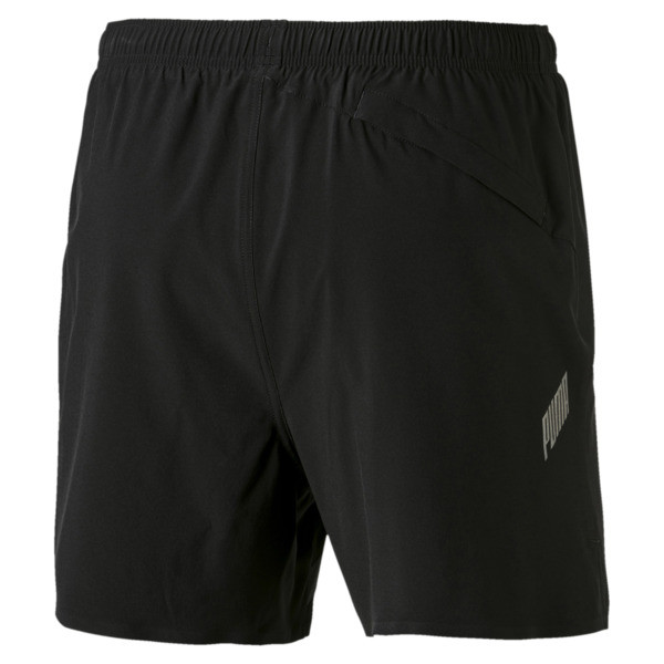 Pace Herren Running Shorts, Puma Black-Asphalt, large