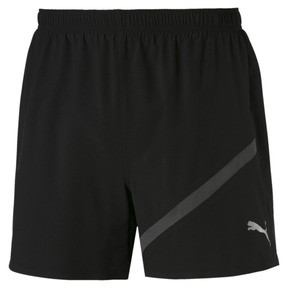 Thumbnail 4 of Pace Herren Running Shorts, Puma Black-Asphalt, medium