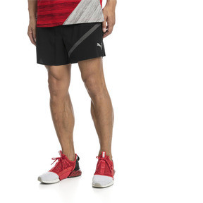 Thumbnail 1 of Pace Herren Running Shorts, Puma Black-Asphalt, medium