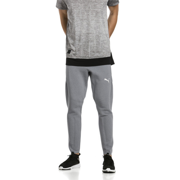 Energy evoKNIT Men's Training Trackster, Medium Gray Heather, large