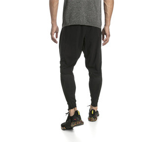 Thumbnail 2 of NeverRunBack Tapered Men's Training Pants, Puma Black, medium