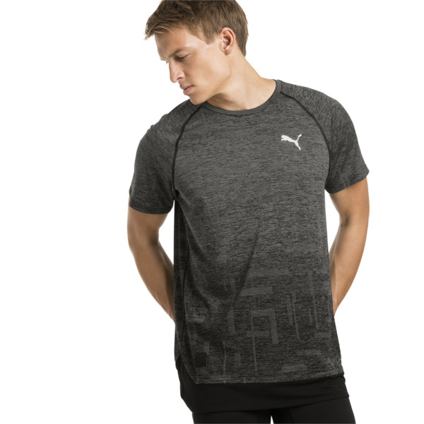 Energy Short Sleeve Tech Men's Training Tee, Puma Black, large