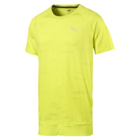 Thumbnail 4 of Energy Short Sleeve Tech Men's Training Tee, Fizzy Yellow, medium