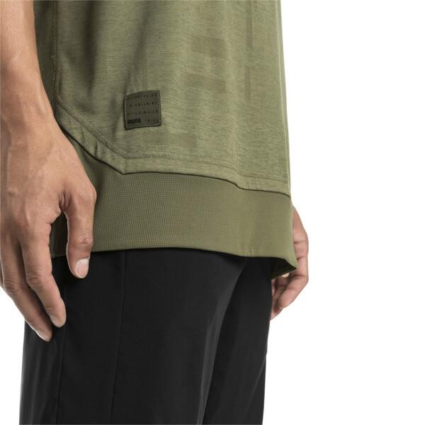 Energy Short Sleeve Tech Men's Training Tee, Olivine, large