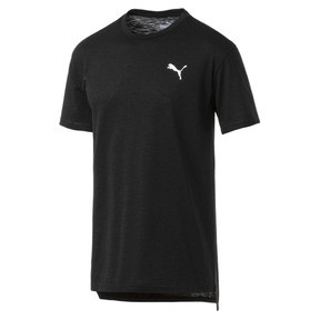Thumbnail 4 of Energy Short Sleeve Men's Training Tee, Puma Black Heather, medium