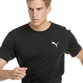 Thumbnail 1 of Energy Short Sleeve Men's Training Tee, Puma Black Heather, medium