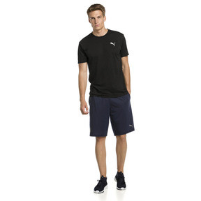 Thumbnail 3 of Energy Short Sleeve Men's Training Tee, Puma Black Heather, medium