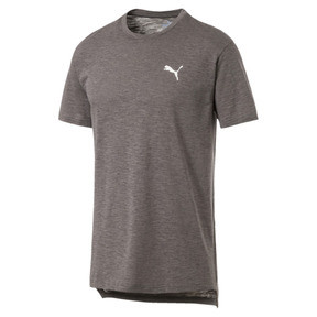 Thumbnail 4 of Energy Short Sleeve Men's Training Tee, Charcoal Gray Heather, medium