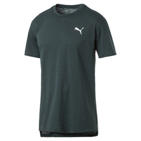 Thumbnail 4 of Energy Short Sleeve Men's Training Tee, Ponderosa Pine Heather, medium