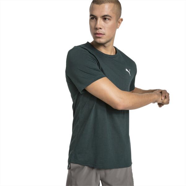 Camiseta de training de manga corta de hombre Energy, Ponderosa Pine Heather, grande