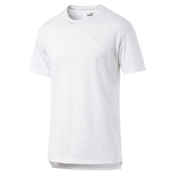 Energy Short Sleeve Men's Training Tee, Puma White, large