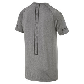 Thumbnail 5 of Energy Seamless Men's Training Tee, Charcoal Gray Heather, medium