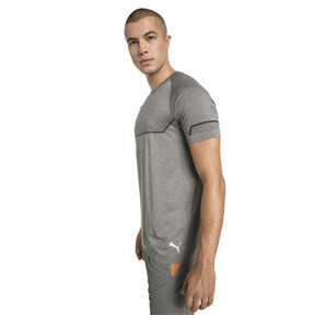 Thumbnail 1 of Energy Seamless Men's Training Tee, Charcoal Gray Heather, medium