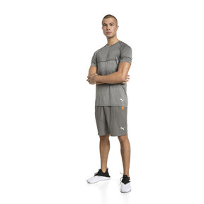 Thumbnail 3 of Energy Seamless Men's Training Tee, Charcoal Gray Heather, medium