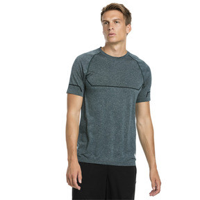 Thumbnail 1 of Energy Seamless Men's Training Tee, Ponderosa Pine Heather, medium