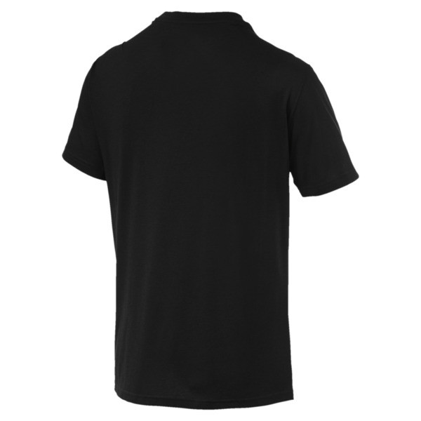 Energy Triblend Herren T-Shirt, Puma Black, large