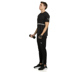 Thumbnail 3 of Energy Triblend Men's Tee, Puma Black, medium