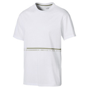 Thumbnail 5 of Energy Triblend Men's Tee, Puma White-Elm, medium