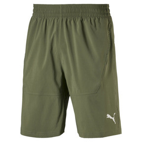 "Thumbnail 4 of Energy Woven 9"" Men's Running Shorts, Olivine, medium"