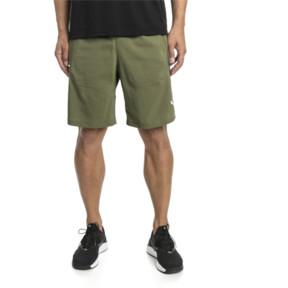 "Thumbnail 1 of Energy Woven 9"" Men's Running Shorts, Olivine, medium"