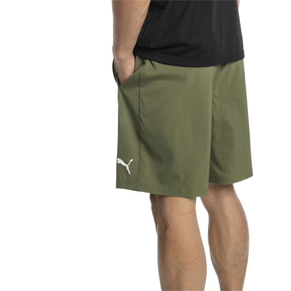 "Energy Woven 9"" Men's Running Shorts, Olivine, large"