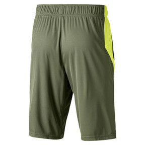 Thumbnail 2 of Energy Knitted Men's Training Shorts, Olivine-Fizzy Yellow, medium