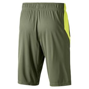 Thumbnail 2 of Energy Knitted Men's Training Shorts, Olivine-Fizzy Yellow, medium
