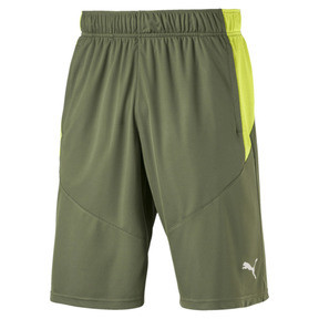 "Thumbnail 2 of Energy Knit Men's 10"" Shorts, Olivine-Fizzy Yellow, medium"