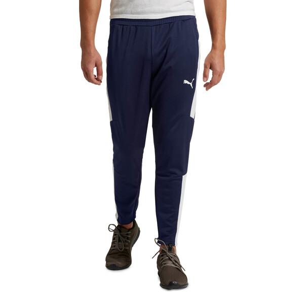 Energy Blaster Men's Pants, Peacoat-Puma White, large