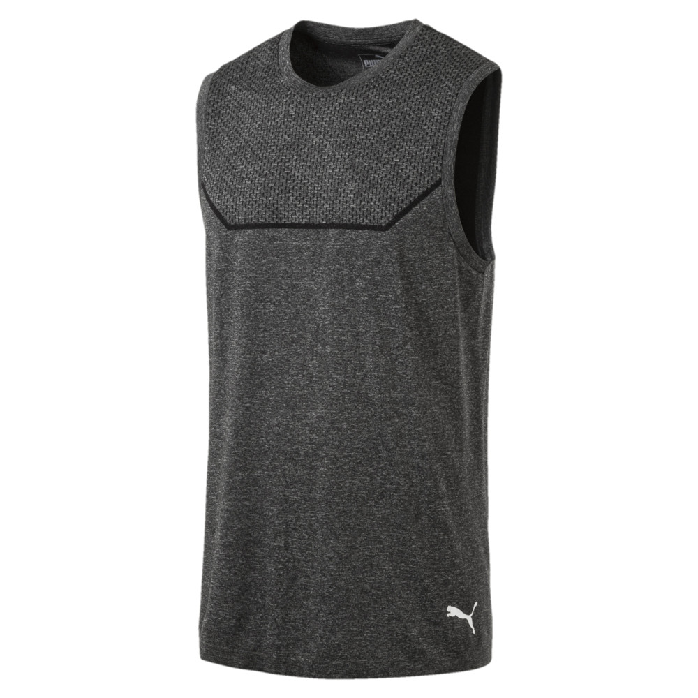 Image PUMA Energy Seamless evoKNIT Sleeveless Men's Training Tee #1