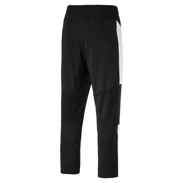 Energy Blaster Men's Woven Pants, Puma Black-Puma White, large