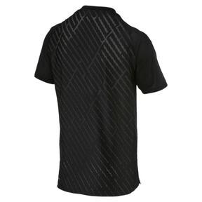 Imagen en miniatura 5 de Camiseta de training con gráfico de hombre VENT, puma black-charcoal gray, mediana