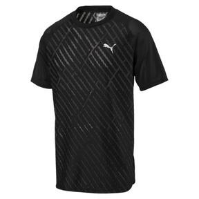 Imagen en miniatura 4 de Camiseta de training con gráfico de hombre VENT, puma black-charcoal gray, mediana