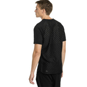 Thumbnail 2 of T-Shirt VENT Graphic Training pour homme, puma black-charcoal gray, medium