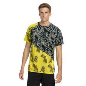 Thumbnail 1 of BND Tech Men's Training Tee, Ponderosa Pine-Blazing Yellw, medium