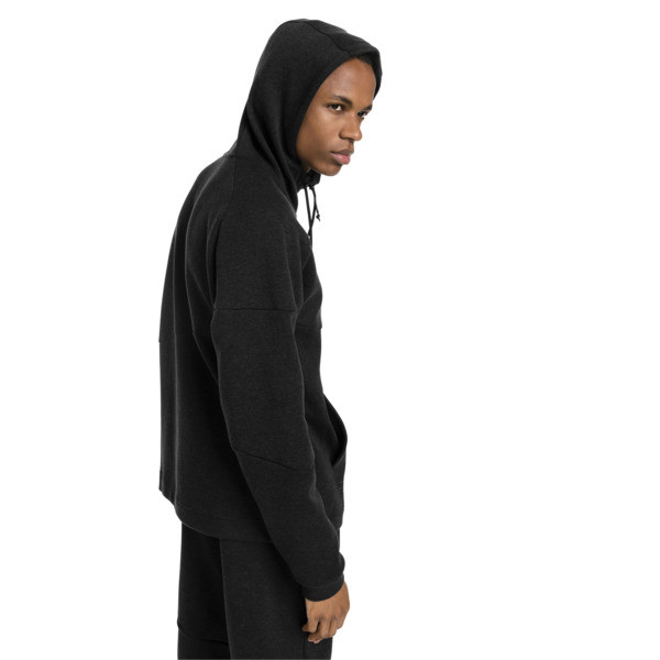 BND Tech Men's Second Layer Jacket, Puma Black Heather, large